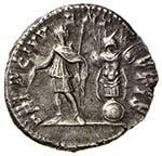 Geta (211-217) Denario - Busto a d. - R/ ...