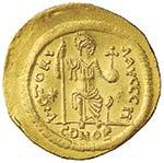 MONETE BIZANTINE Giustino II (565-578) ...