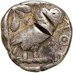 ATTICA Atene Tetradramma (V secolo) Testa ...