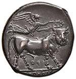 CAMPANIA Neapolis - Nomos (circa 300-275 ...