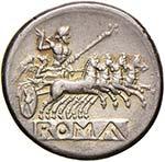 Anonime - Didramma (225-212 a.C.) Testa di ...