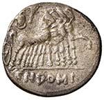 Domitia - Cn. Domitius - Denario (189-180 ...