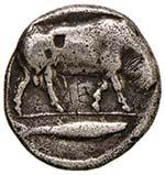Thurium - Nomos (circa 443-400 a.C.) Testa ...