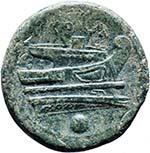 Anonime - Oncia (217-215 a.C.) Testa di Roma ...