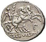 REPUBBLICA Servilia - P. Servilius M. f. ...