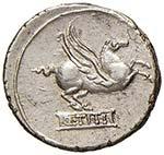 REPUBBLICA Titia - Q. Titius - Denario (90 ...