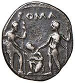 Veturia - Ti. Veturius - Denario (137 a.C.) ...