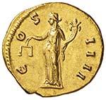 Antonino Pio (138-161) Aureo – Testa a d. ...