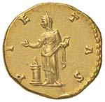 Lucilla (moglie di Lucio Vero) Aureo - Busto ...
