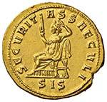 Probo (276-282) Aureo (Siscia) Busto ...