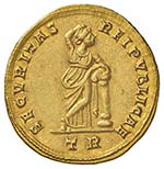 Costantino I (307-337) Solido (Treveri) ...