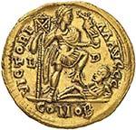 Costantino III (407-411) Solido (Lugdunum, ...