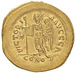 Anastasio (491-518) Solido (Costantinopoli) ...