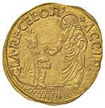 Paolo II (1464-1471) Ducato - Munt. 5 AU (g ...