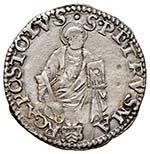 Leone X (1513-1521) Ancona – Quarto di ...