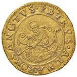 Adriano VI (1522-1523) Doppio fiorino di ...