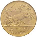 ALBANIA Zog (1925-1939) 100 Franga 1927 Due ...