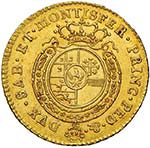 Carlo Emanuele III (1730-1773) Mezza doppia ...