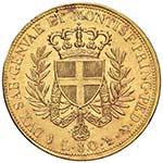 Vittorio Emanuele I (1814-1821) 80 Lire 1821 ...