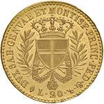 Vittorio Emanuele I (1814-1821) 20 Lire 1821 ...