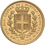 Carlo Alberto (1831-1849) 100 Lire 1834 T ...