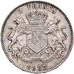 CONGO BELGA Leopoldo II (1865-1909) 5 ...