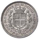 Carlo Alberto (1831-1849) 50 Centesimi 1847 ...