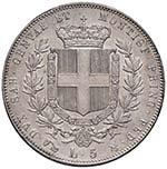 Vittorio Emanuele II (1849-1861) 5 Lire 1854 ...