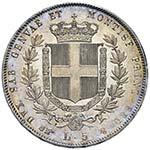 Vittorio Emanuele II (1849-1861) 5 Lire 1856 ...