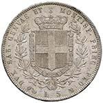 Vittorio Emanuele II (1849-1861) 5 Lire 1859 ...