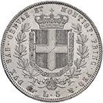 Vittorio Emanuele II (1849-1861) 5 Lire 1860 ...