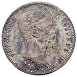 Lira e 50 Centesimi 1859 ...