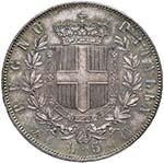 Vittorio Emanuele II (1861-1878) 5 Lire 1865 ...