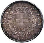Vittorio Emanuele II (1861-1878) Lira 1861 F ...