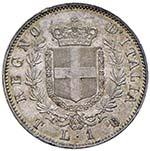 Vittorio Emanuele II (1861-1878) Lira 1861 T ...