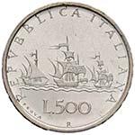 REPUBBLICA ITALIANA 500 Lire 1957 Prova AG ...