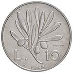 REPUBBLICA ITALIANA 10 Lire 1946 Prova – ...