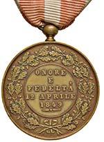 MEDAGLIE Granducato di Toscana Medaglia 1849 ...