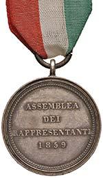 MEDAGLIE Granducato di Toscana Medaglia 1859 ...
