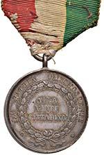 Repubblica romana Medaglia 1849 Alla virtù ...