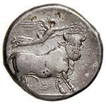CAMPANIA Neapolis Didramma (circa 320-300 ...