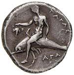 CALABRIA Taranto Didramma (circa 281-270 ...