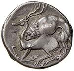 LUCANIA Velia Didramma (circa 280 a.C.) ...