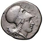 SICILIA Siracusa - Statere (circa 344-317 ...