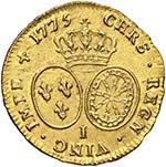 FRANCIA Luigi XVI (1774-1793) Doppio luigi ...