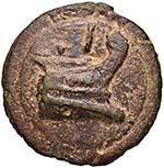 Anonime - Asse (225-217 a.C.) Testa di Giano ...