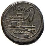 Anonime - Oncia (215-212 a.C.) Testa elmata ...