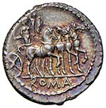Acilia – M. Acilius M. f. – Denario (130 ...