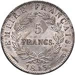 FRANCIA Napoleone (1804-1814) 5 Franchi 1813 ...
