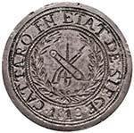 CATTARO Assedio inglese (1813) 5 Franchi ...